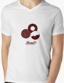 Biscuits Mens V-Neck T-Shirt