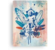 poseidon surfer 4  Canvas Print