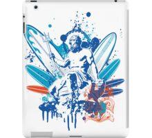 poseidon surfer 4  iPad Case/Skin