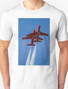 Red Arrows Synchro pair Unisex T-Shirt