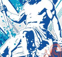 poseidon surfer 4  Sticker