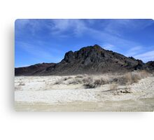 """The Black Rock"",Black Rock Desert,Gerlach,NV USA Canvas Print"