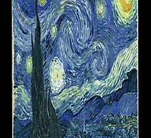 Van Gogh Starry Night by buucos