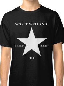 Scott Weiland - Rest In Peace - Stone Temple Pilots Four Logo Classic T-Shirt