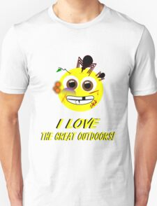 I LOVE the Great Outdoors! Unisex T-Shirt
