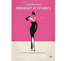 No204 My Breakfast at Tiffanys minimal movie poster Photographic Print