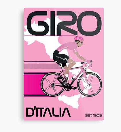 GIRO D'ITALIA Metal Print