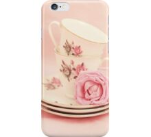 Vintage Teacups  iPhone Case/Skin