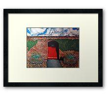 Sledmere walled garden Framed Print