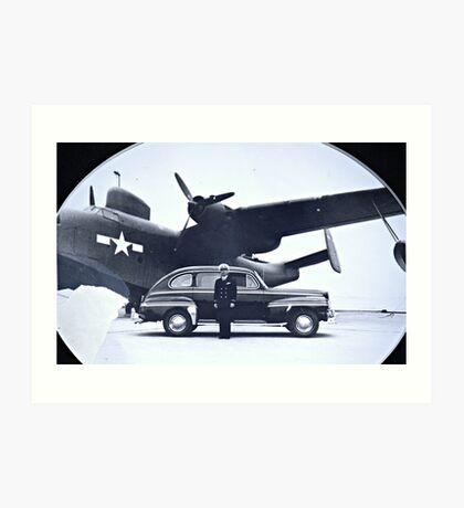 United States Seaplane Art Print