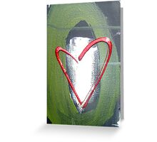 deal from rio prayer painting Greeting Card