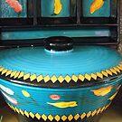 Blue Dish Set by WildestArt