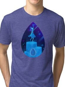 Steven Universe - Lapis Lazuli Tri-blend T-Shirt