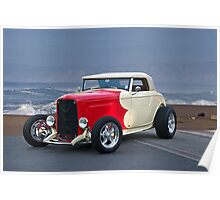 1932 Ford Roadster Beach'n Times Poster