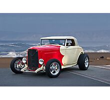 1932 Ford Roadster Beach'n Times Photographic Print