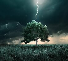 Thunder and lighting by jordygraph
