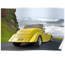 1934 Ford Roadster PCH II Poster