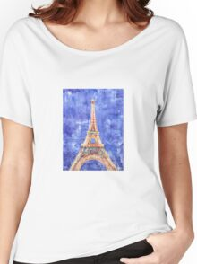 La Tour Eiffel Women's Relaxed Fit T-Shirt