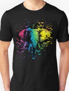 Rainbow Bull Elephant T-Shirt