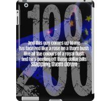 u2 bullet blue sky iPad Case/Skin