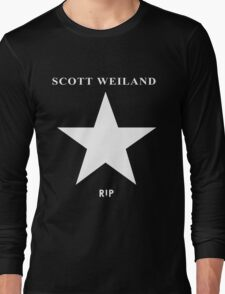 Scott Weiland - Rest In Peace - Stone Temple Pilots Four Logo Long Sleeve T-Shirt