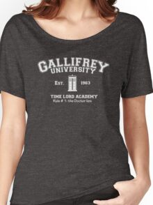 Gallifrey University Women's Relaxed Fit T-Shirt