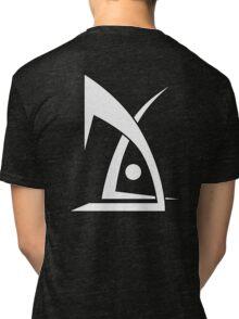 Deus EX logo no text black Tri-blend T-Shirt