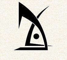 Deus EX logo no text white Zipped Hoodie