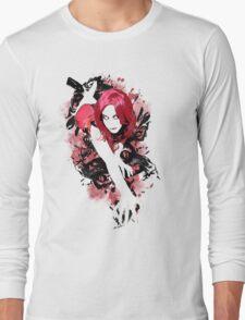 Redheaded Corset Long Sleeve T-Shirt