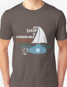 My Ship is unsinkable - Clintasha T-Shirt