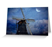 There is Something about Windmills..... Greeting Card