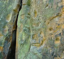 Limestone rock XII. - Fissure by Natas