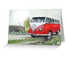 Saw you shining in the sun this morning Greeting Card