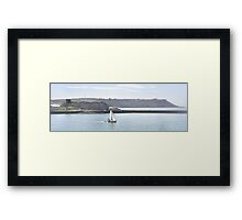 Sailing Sound Framed Print