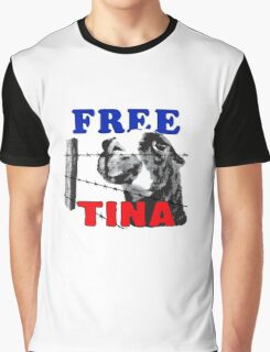 FREE TINA Graphic T-Shirt