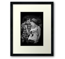 The Look Of Love Framed Print