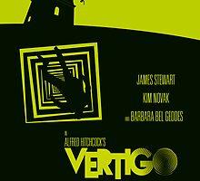 Alfred Hitchcock's Vertigo by AlainB68