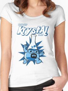 Krystal  Women's Fitted Scoop T-Shirt