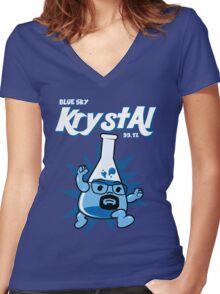 Krystal  Women's Fitted V-Neck T-Shirt