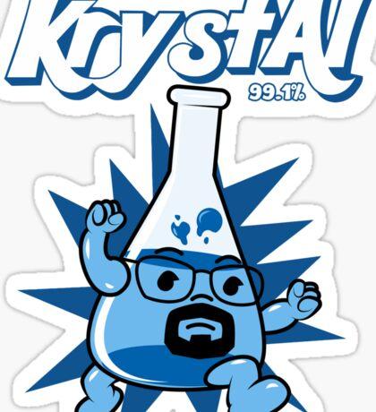 Krystal  Sticker
