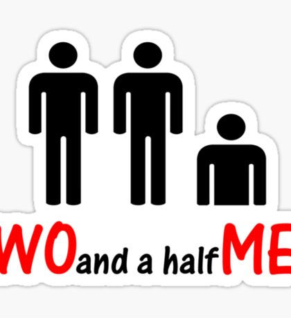 Two and a half Men Sticker