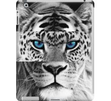 WILD blue eyes  iPad Case/Skin