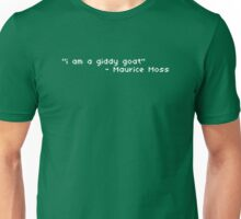 I Am A Giddy Goat Quote Unisex T-Shirt