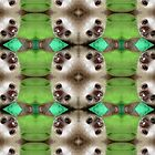 Sloth Tessellation by Stephanie Herrieven