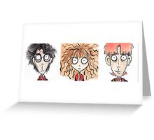 The Trio Greeting Card