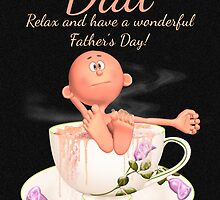 Fun Dad Father's Day Greeting Card by Moonlake