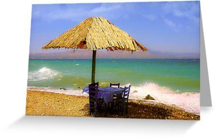 On the Beach by EvaMarIza