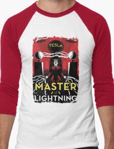 Master of Lightning Men's Baseball ¾ T-Shirt