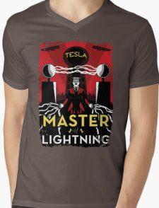Master of Lightning Mens V-Neck T-Shirt