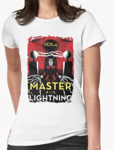 Master of Lightning Womens Fitted T-Shirt